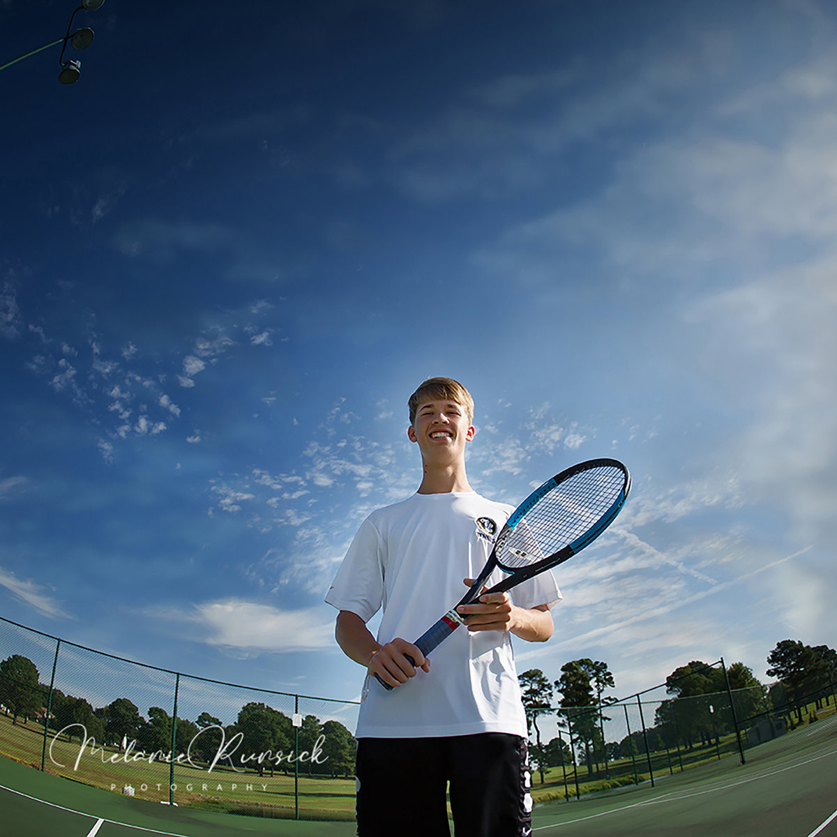 tennis senior photos Melanie Runsick Photography