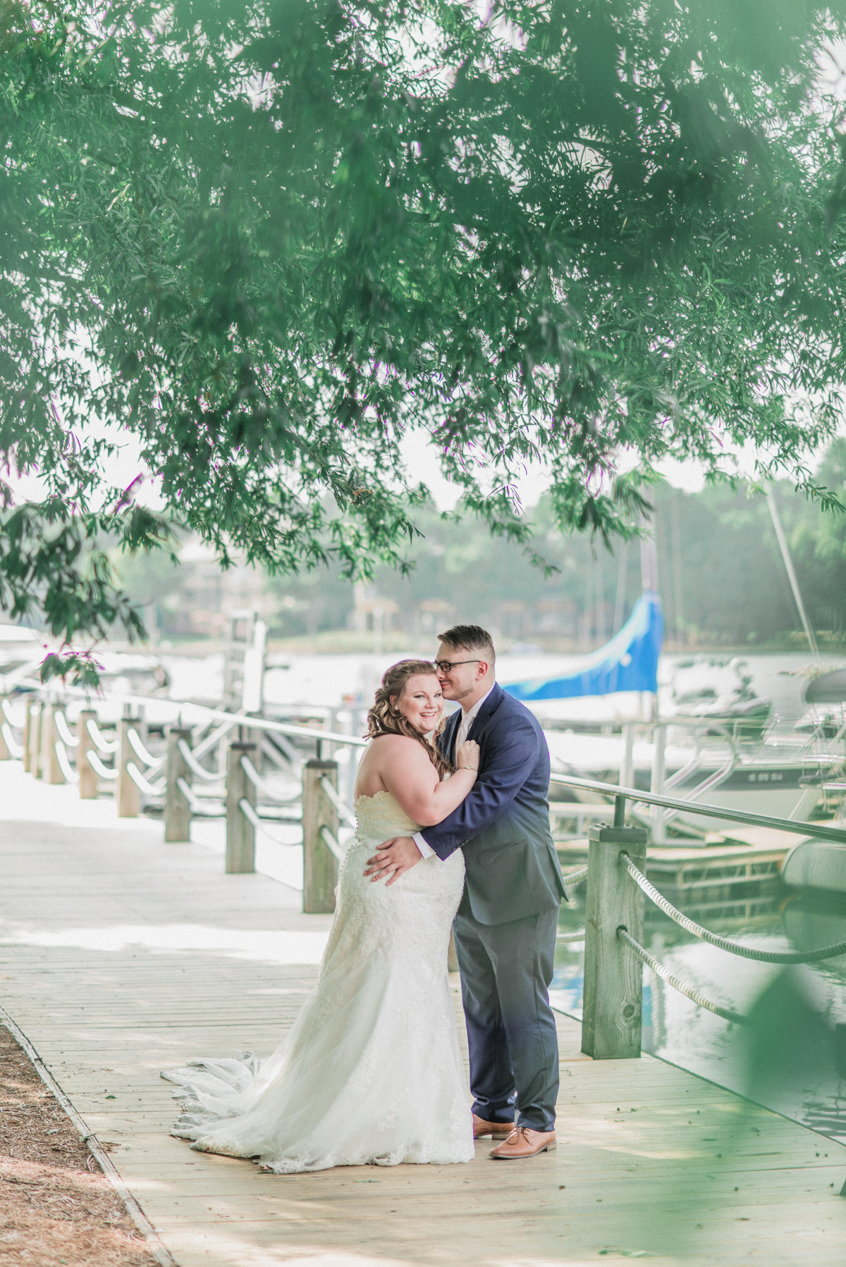 Peninsula Yacht Club Wedding Photo