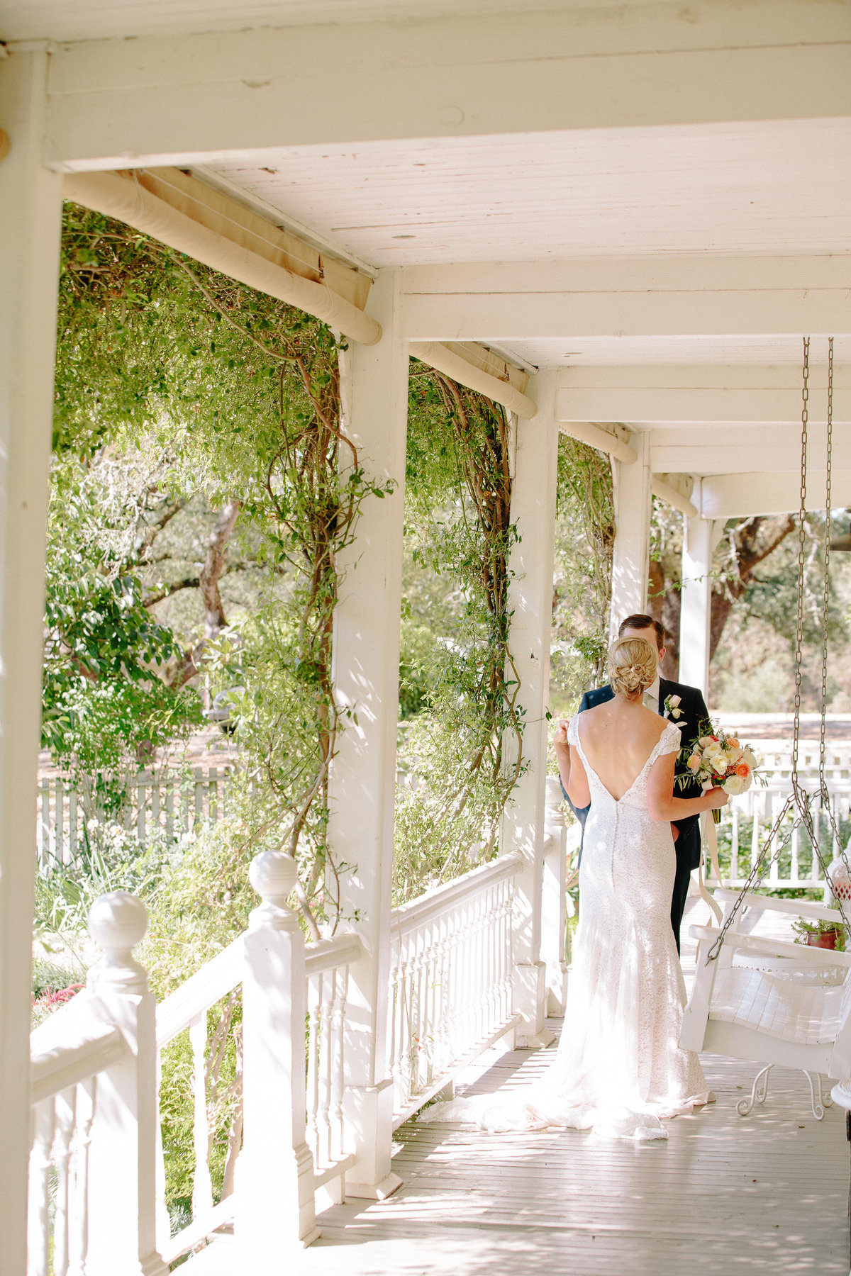 First look at a wedding at Beltane Ranch in Sonoma.