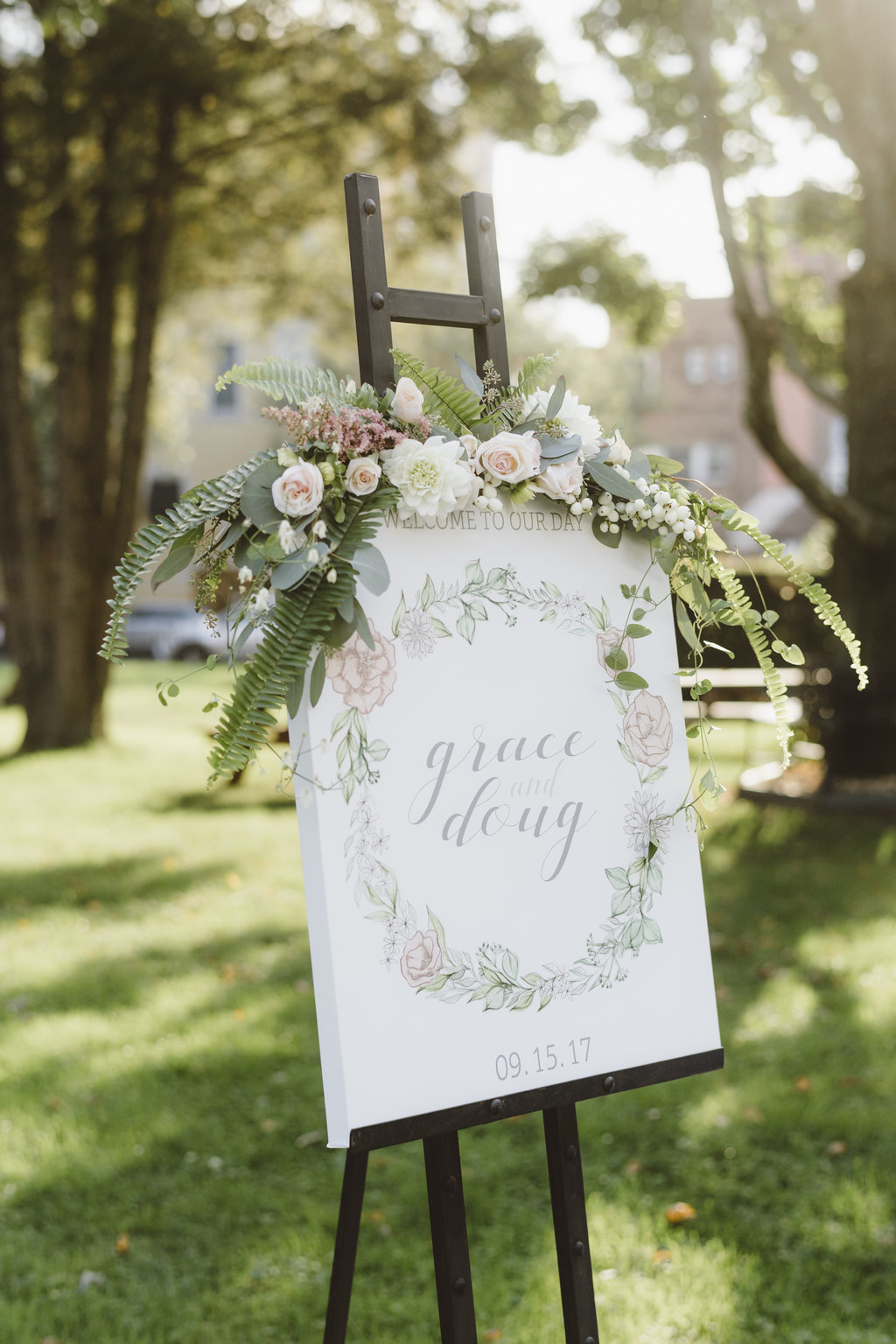Monica_Relyea_Events_Alicia_King_Photography_Highschool_Sweethearts_Wedding_Grace_and-Doug-Senate-Garage-welcome-sign69