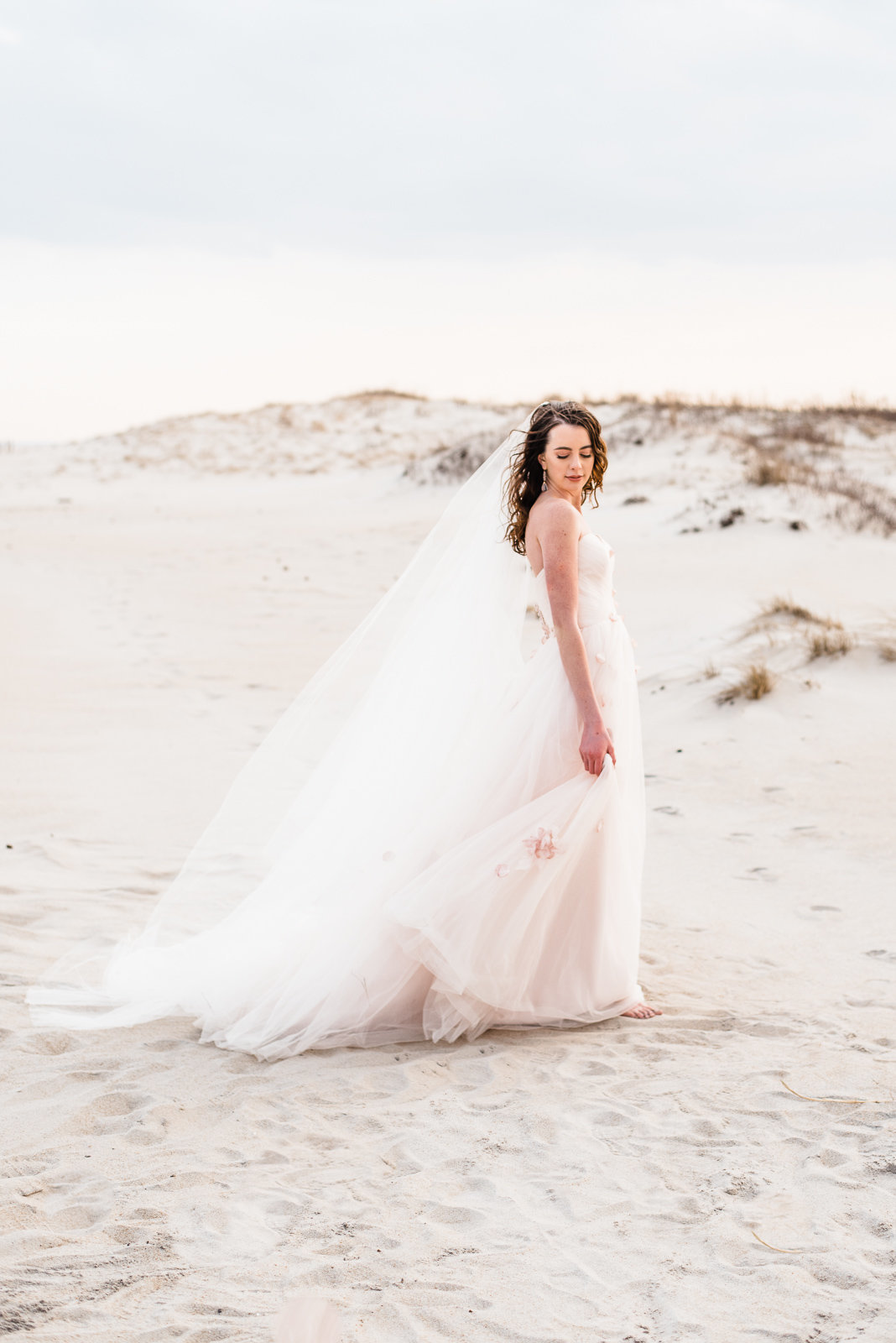 Maryland fine art bride Megan Harris Photography