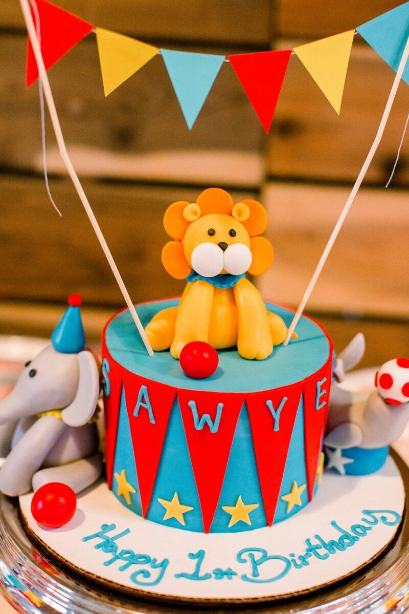 Circus Themed 1st Birthday Indianapolis Party Planner_0067