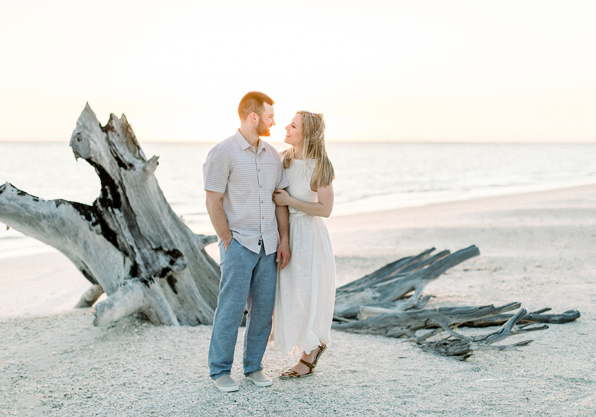 Lovers Key Beach Florida Engagement Photos