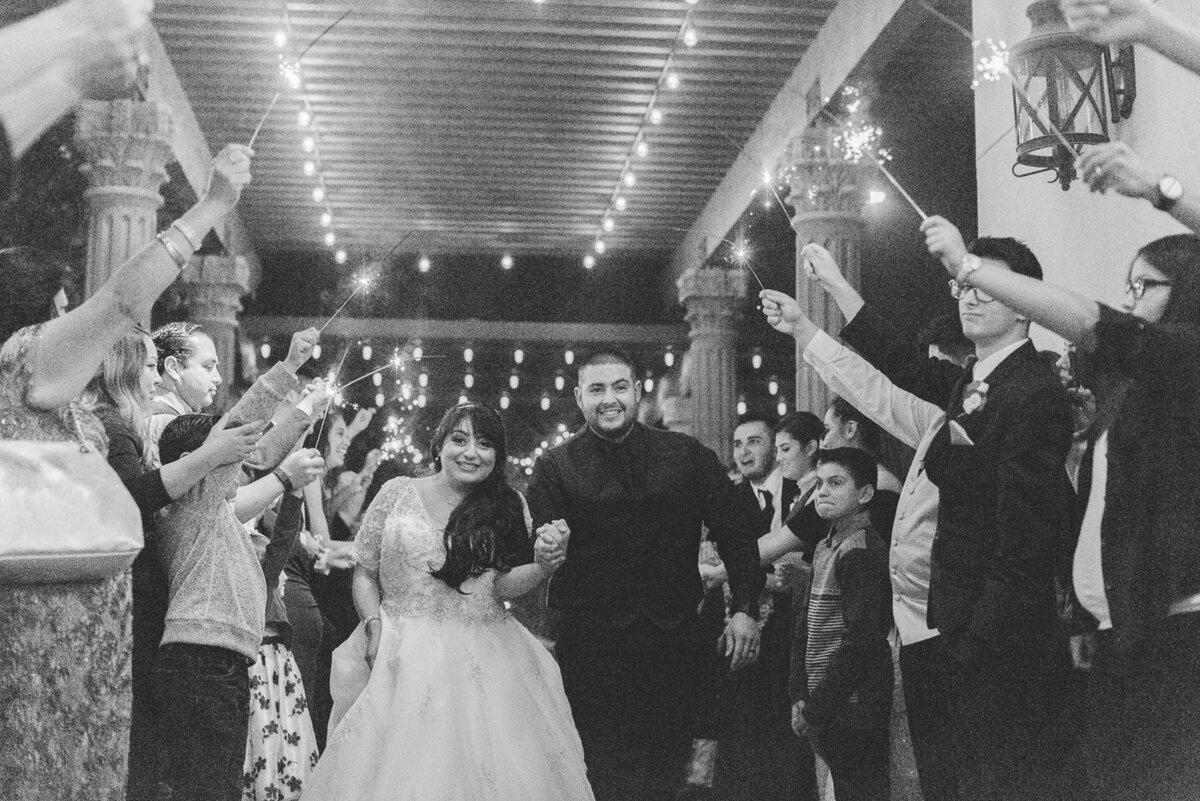 Hermosillo Wedding 2016-Sparkler Exit-0015