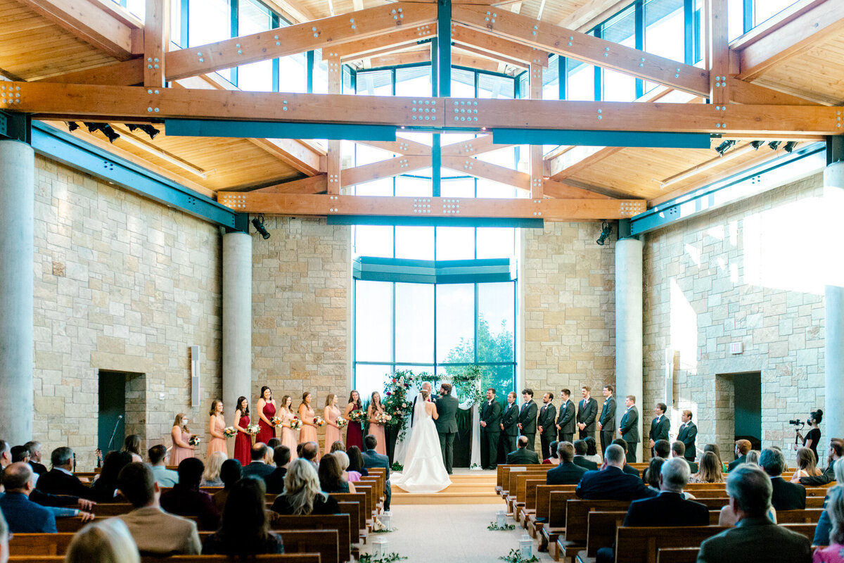Kaylee & Michael's Wedding at Watermark Community Church | Dallas Wedding Photographer | Sami Kathryn Photography-108