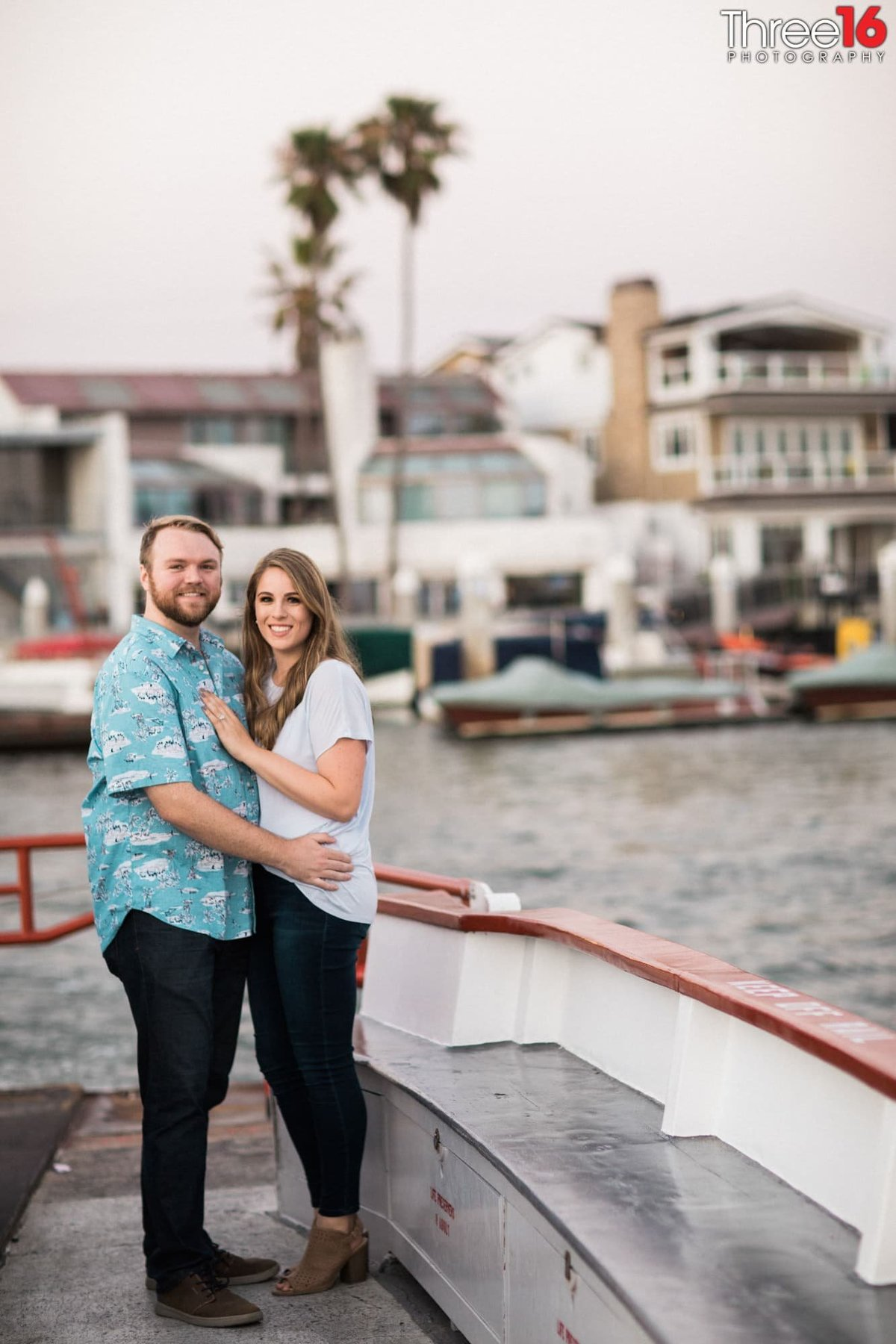 Balboa Island Engagement Photo Session Orange County Wedding
