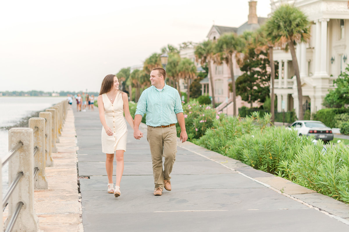 rainbow row engagement session charleston sc27