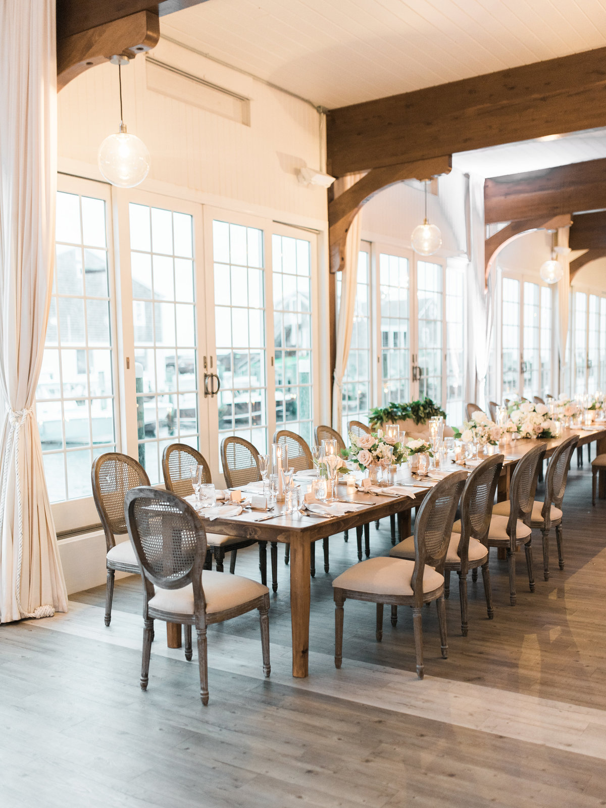 Head table at Wychmere Beach Club