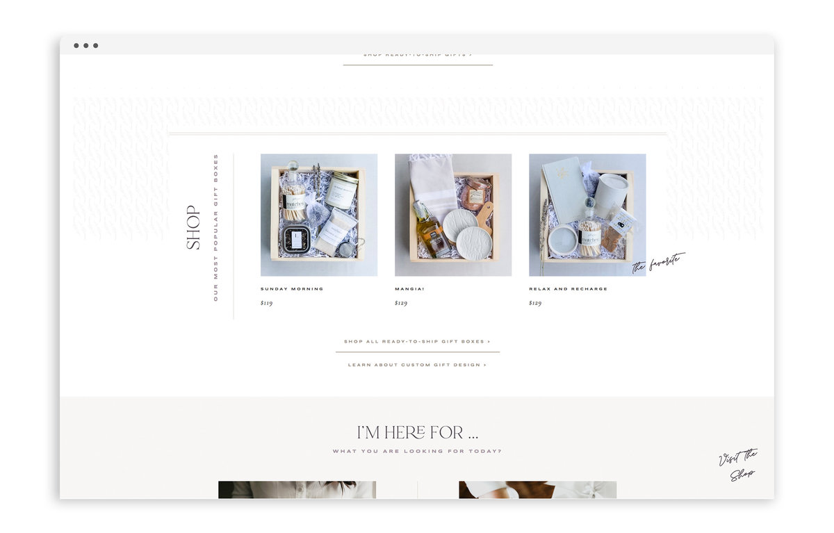 Lavender and Pine - Formerly Blush Events - Custom Brand and Showit Web Design by With Grace and Gold - Showit Theme, Showit Themes, Showit Template, Showit Templates, Showit Design, Showit Designer - 1