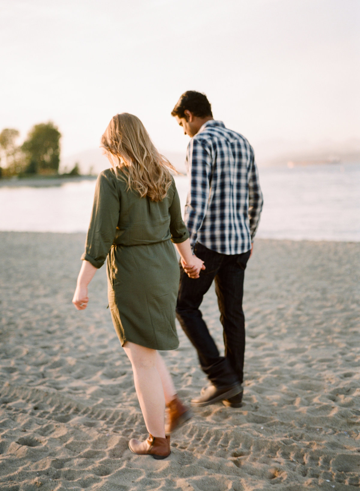 jericho beach engagement