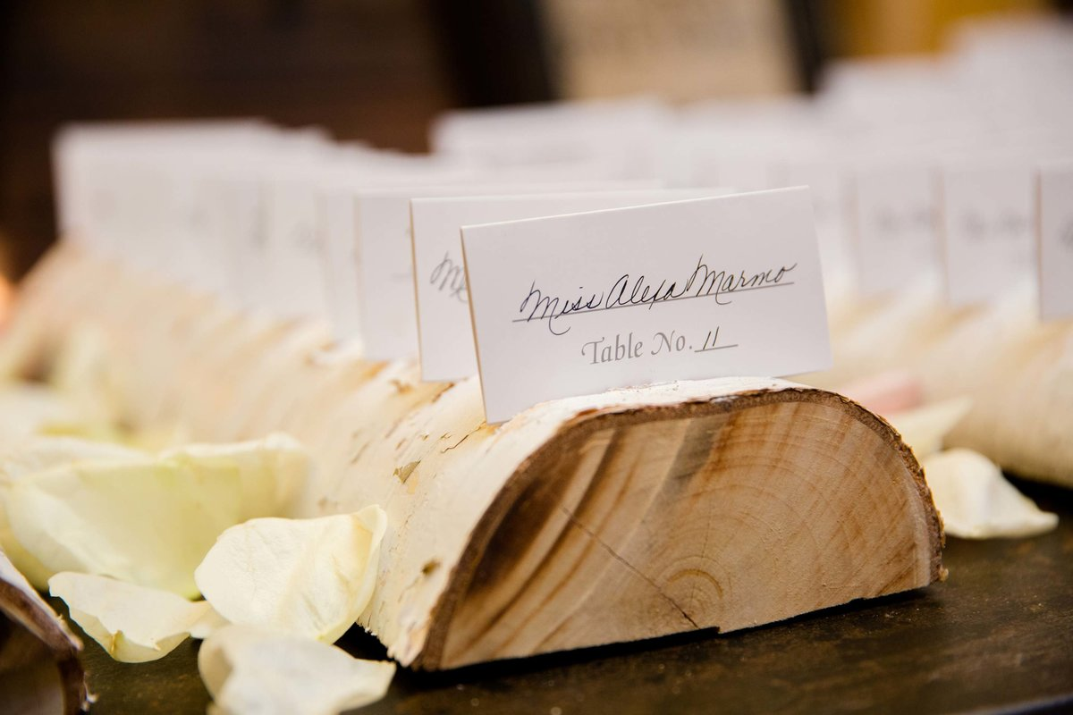 Larkfield Manor place cards