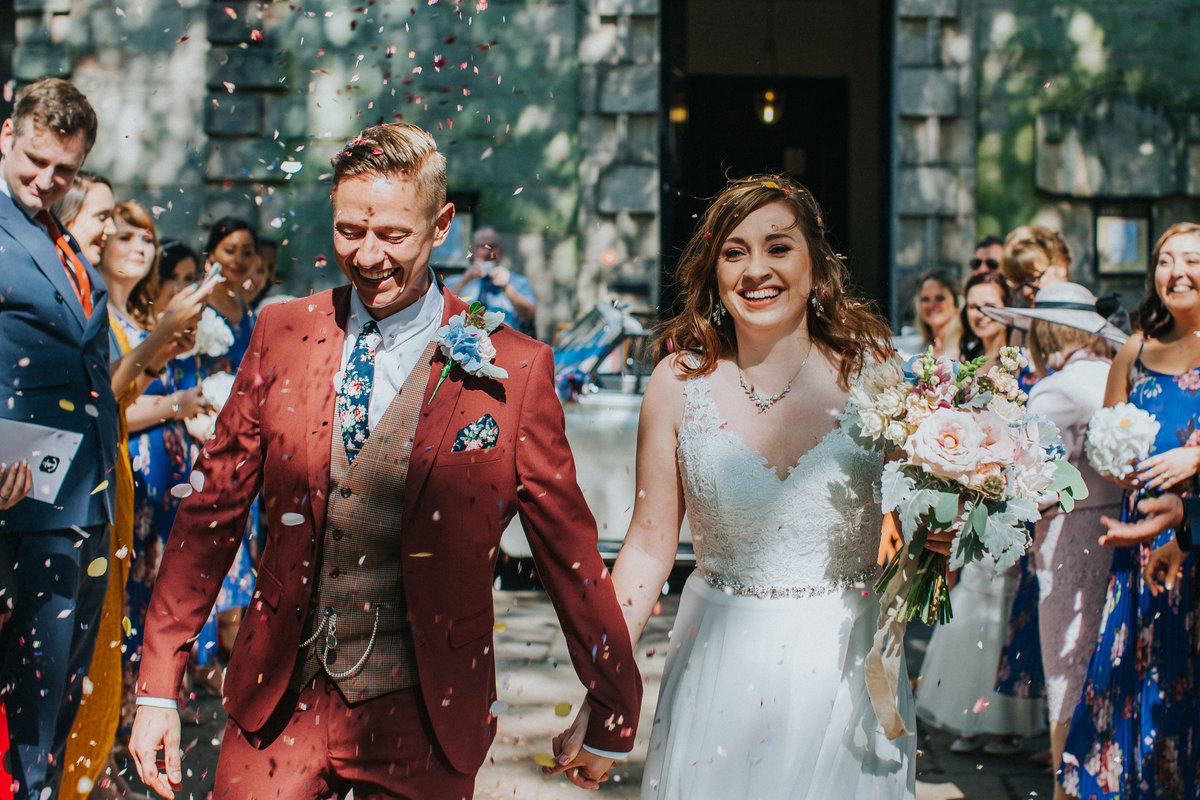 Digbeth Wedding -- Danielle & Anthony- Electric Blue -1