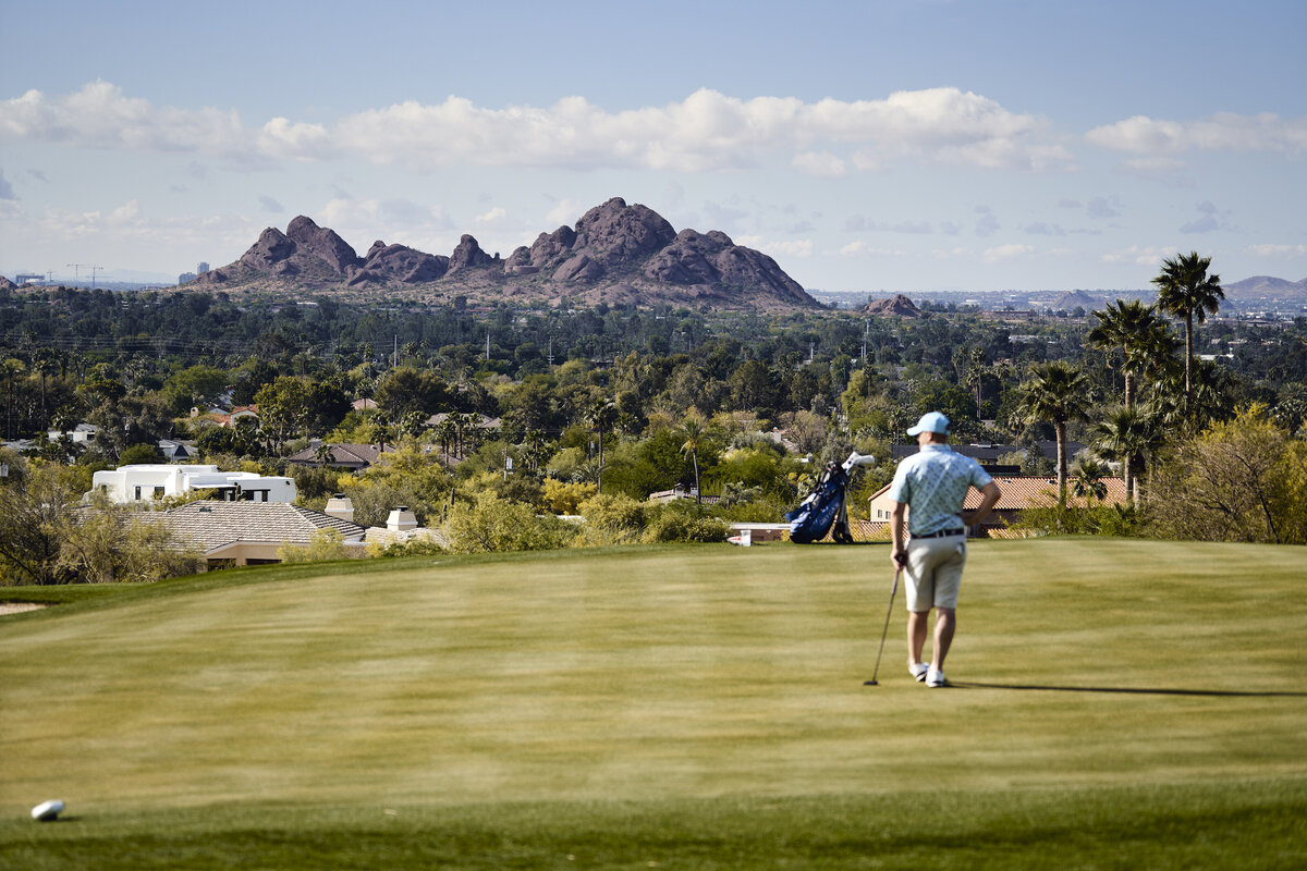 Phoenician Golf Photography