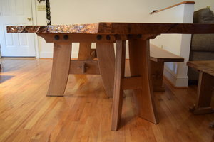 Oak Table Legs by Sam Rouse Furniture