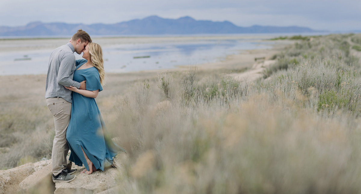 saltair salt lake city utah couples engagement photographer