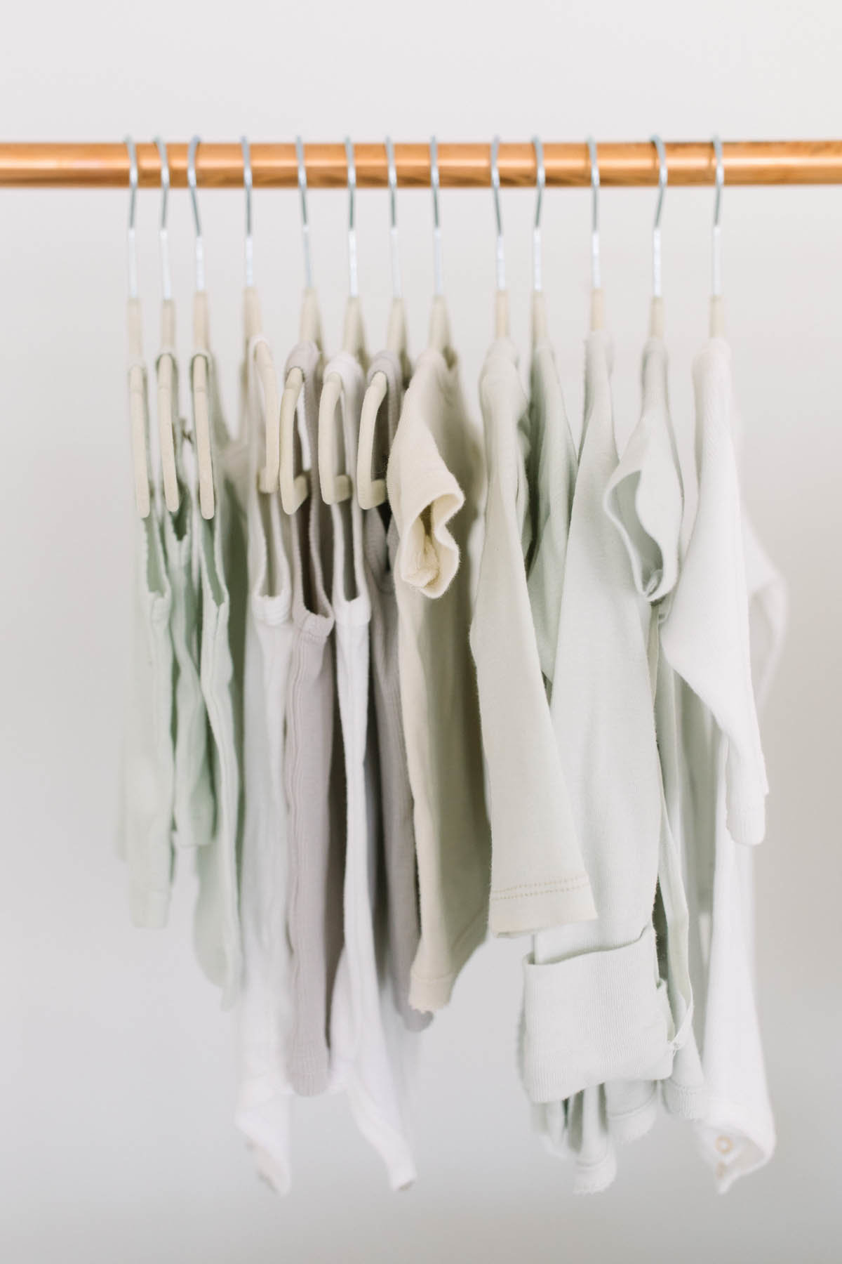 Elle Baker Photography offers a full studio wardrobe for her baby clients