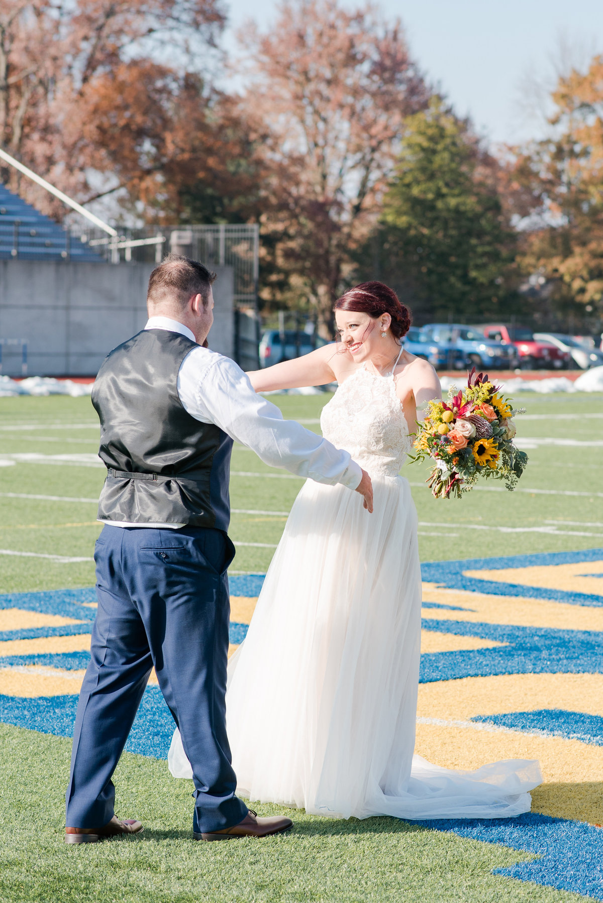 Urban Artifact Brewery Colorful Fall Wedding-37
