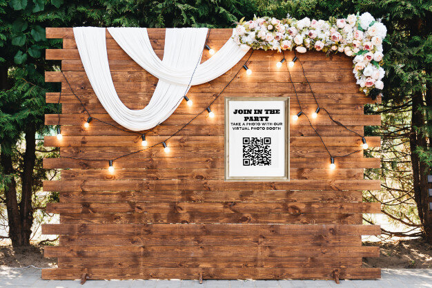 wedding virtual photo booth