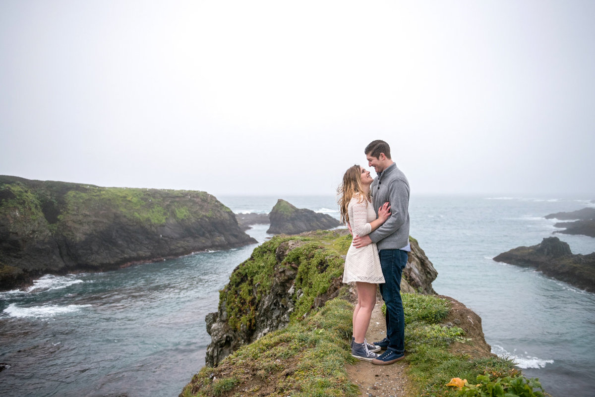 Mendocino Headlands Engagement Photography
