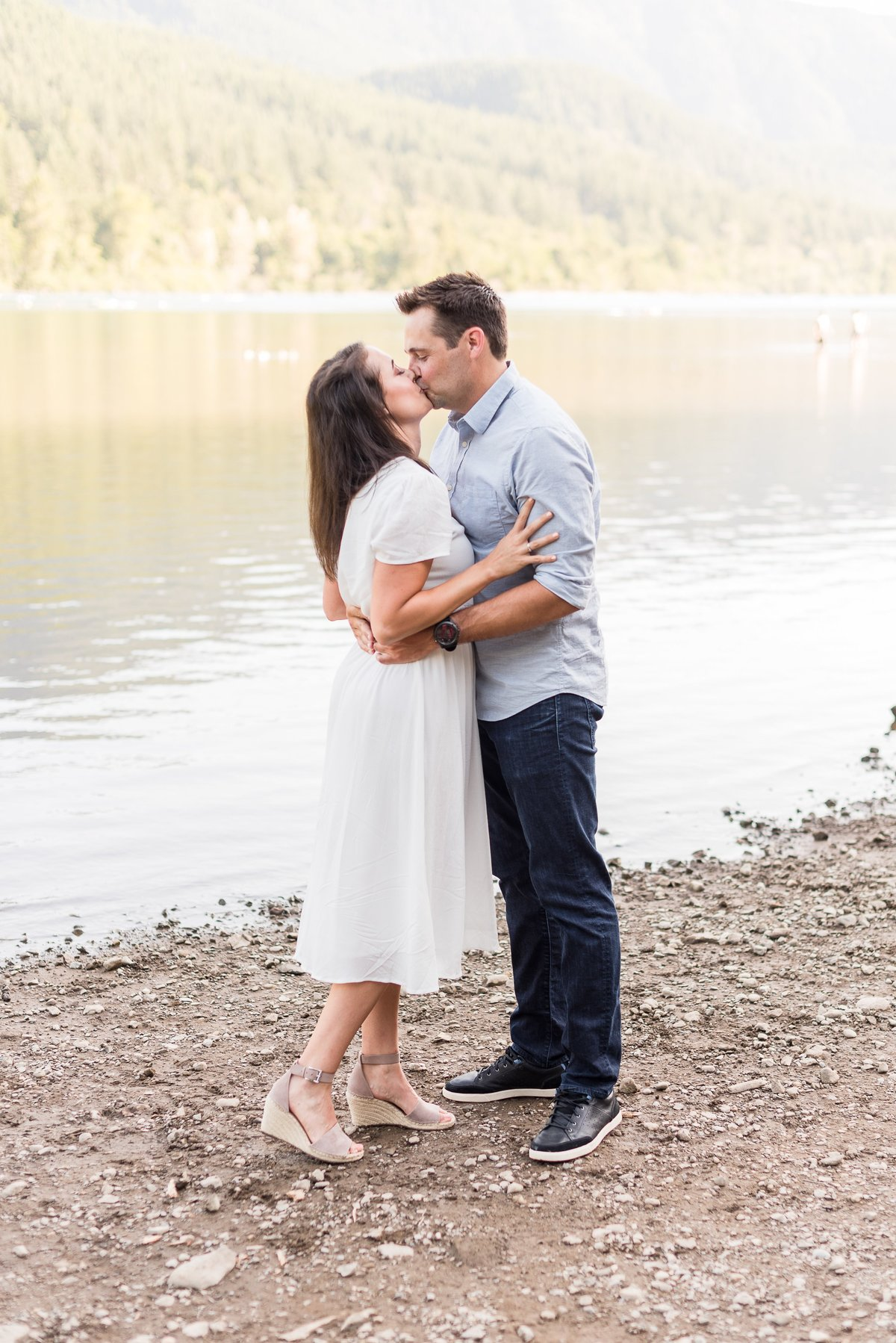 Rattlesnake Lake Engagement Session - 32