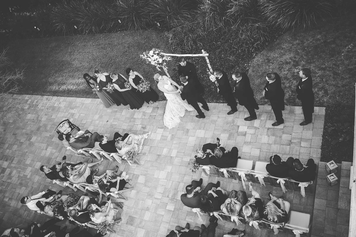 ceremony-arial-wedding-castlegate-castel-otttis-breaking-tradition-st-augustine-fl