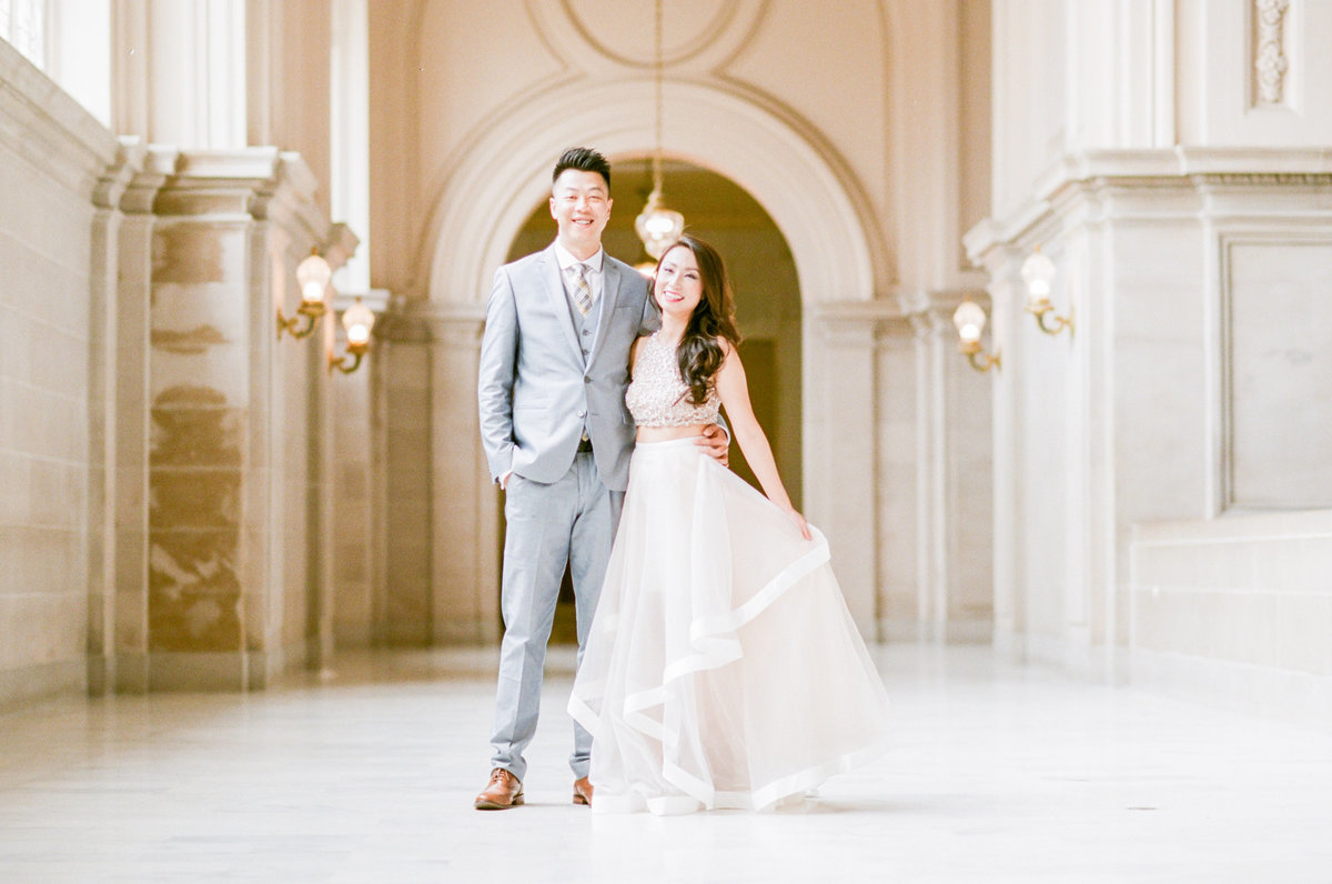 San Francisco Fine Art Film Wedding Portraits Evonne and Darren Photography