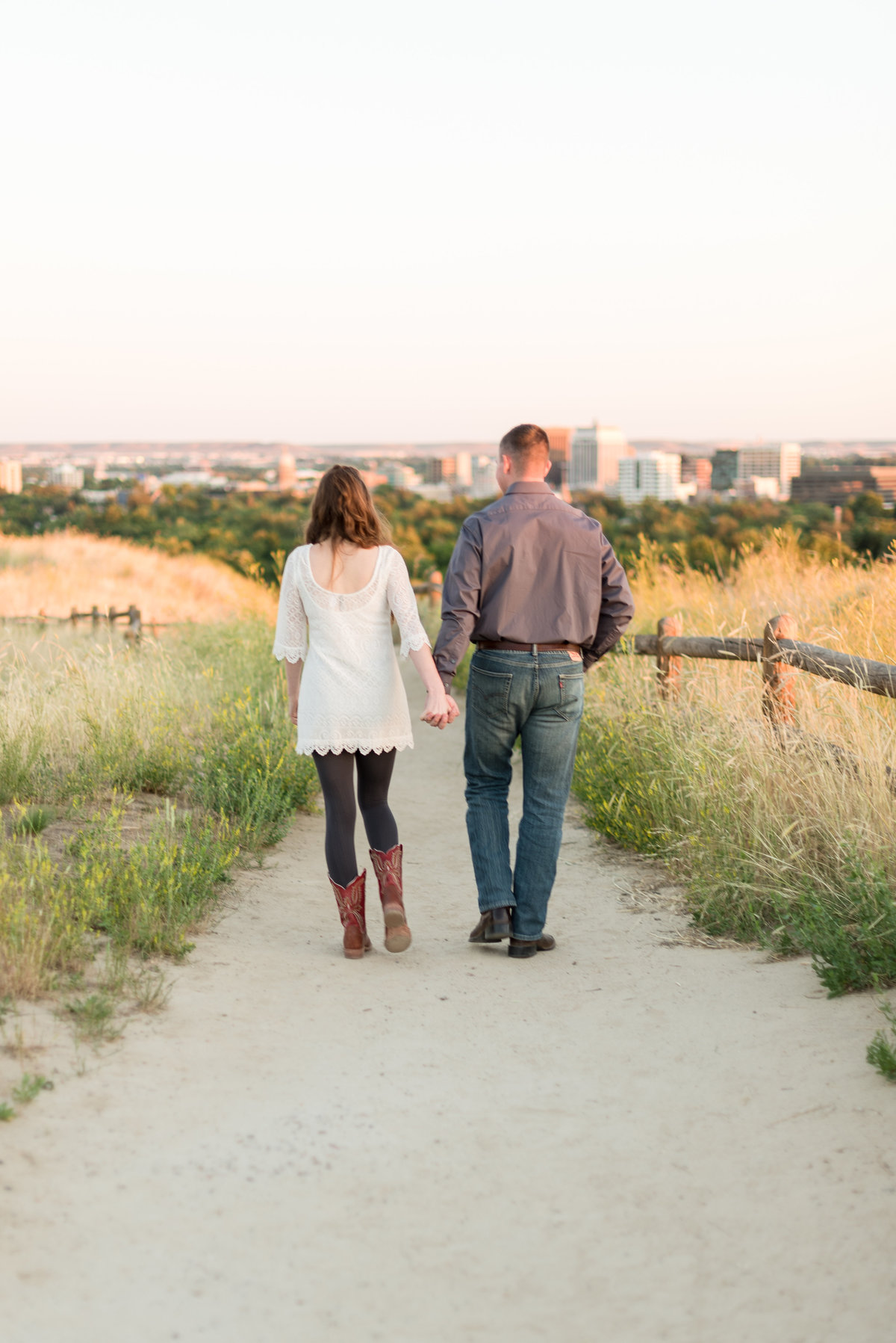 Spring Boise Foothills Engagement Shoot18