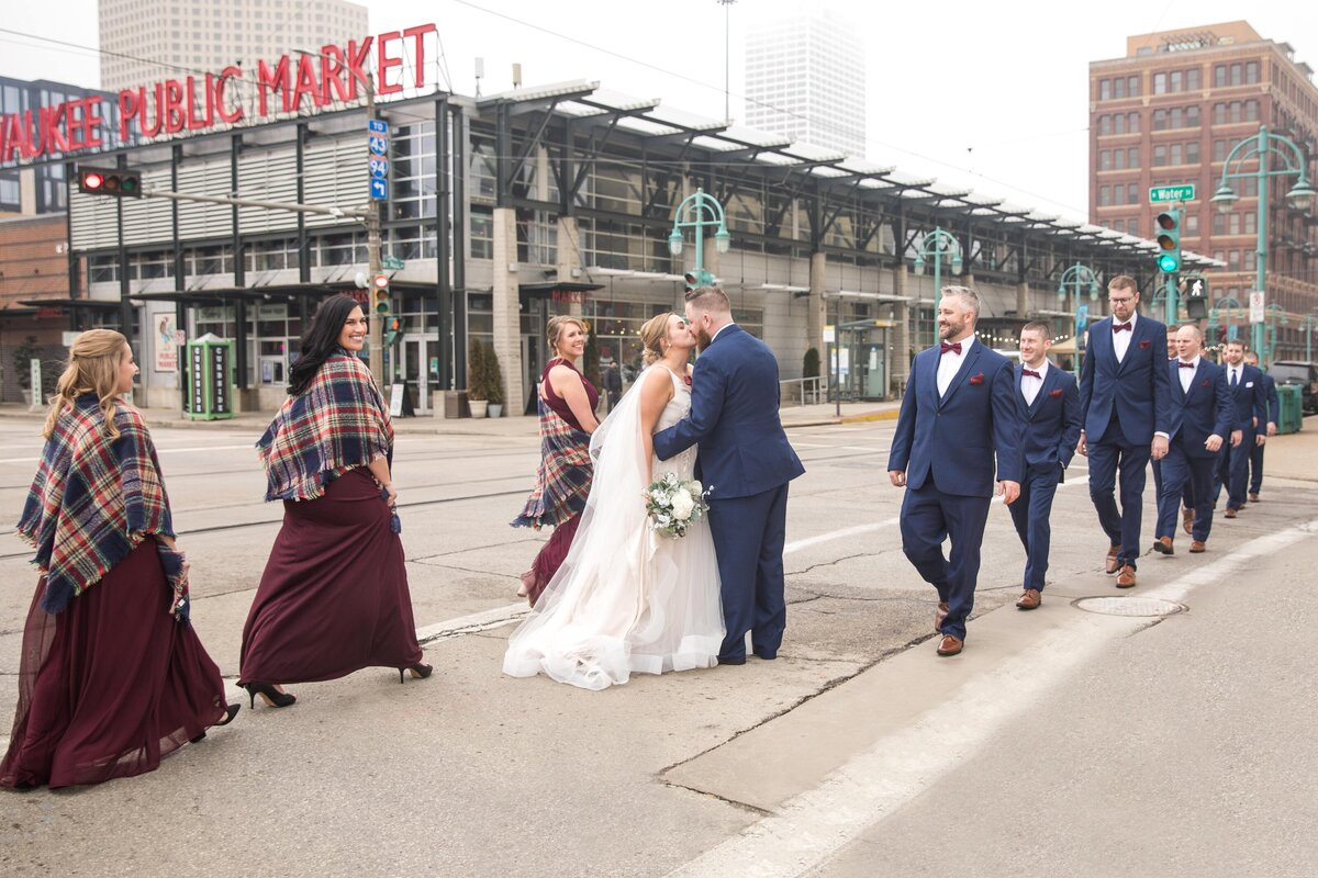 Milwaukee Public Market Wedding Party