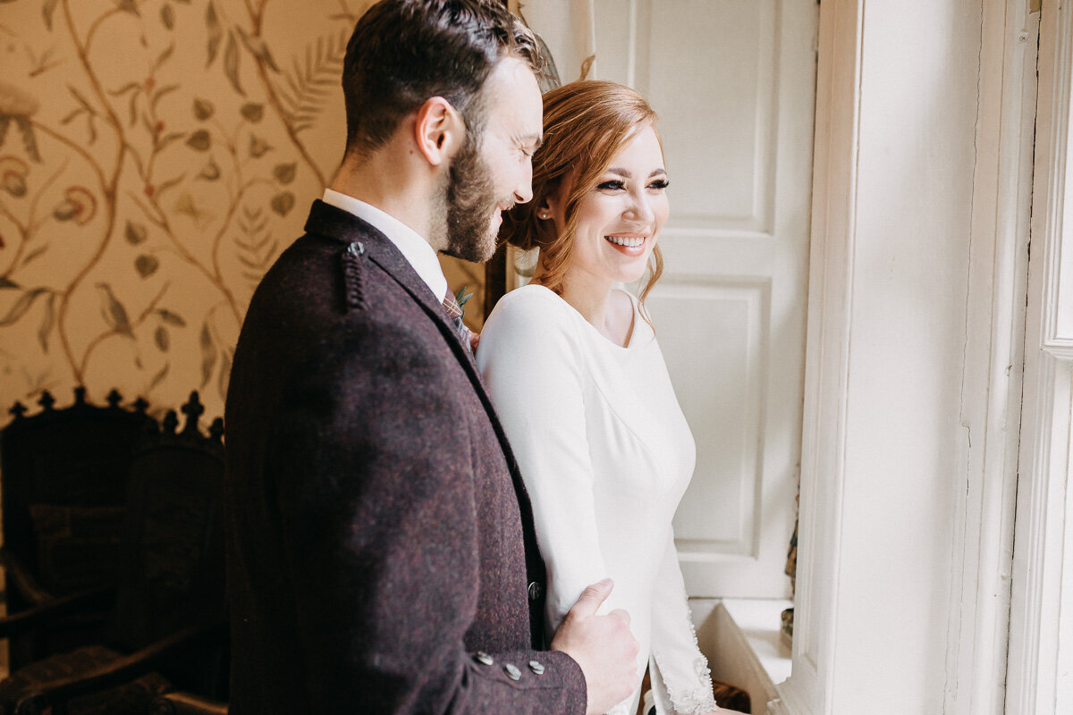 Aberdeenshire_bridal_couple_durn_house