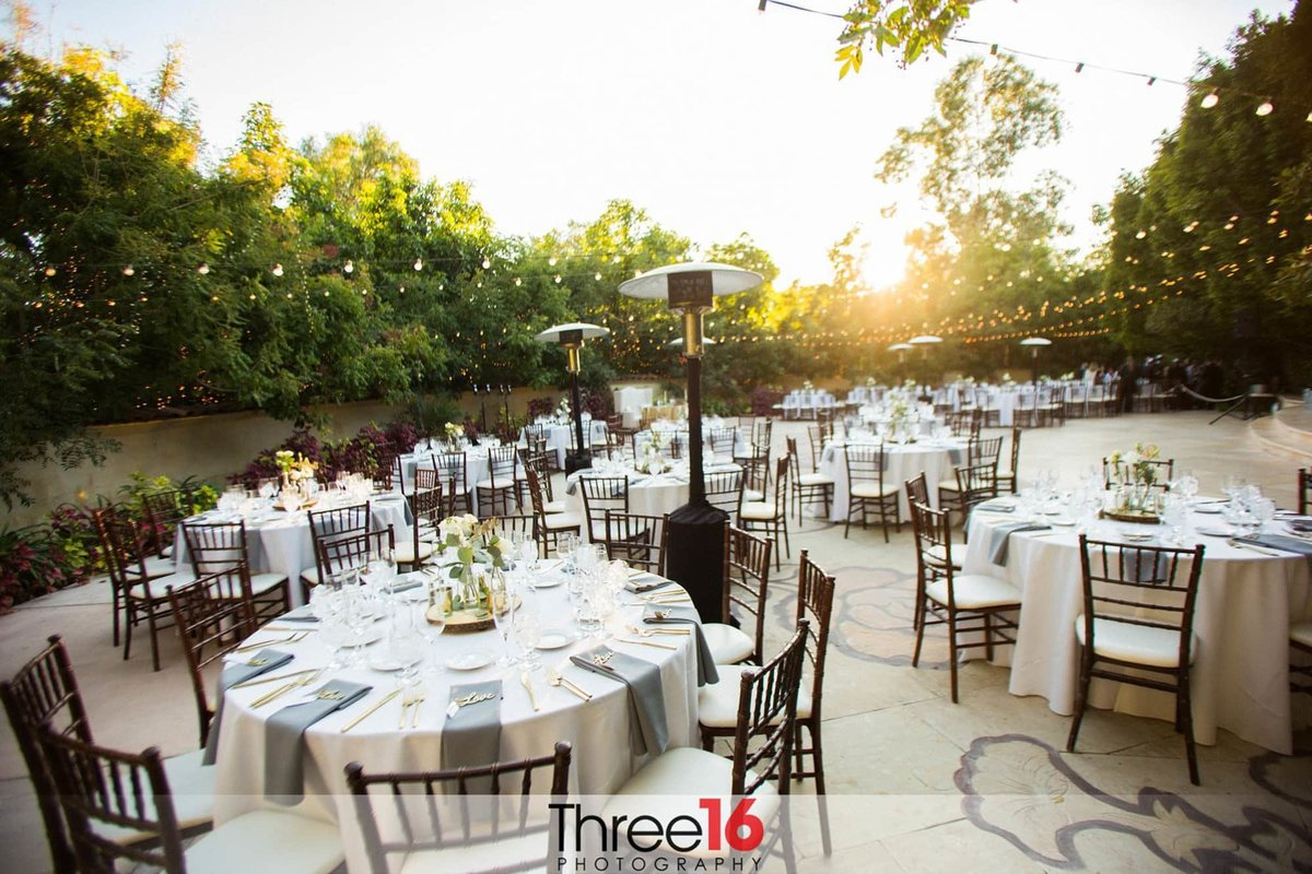 outdoor wedding venue in southern california top space photography