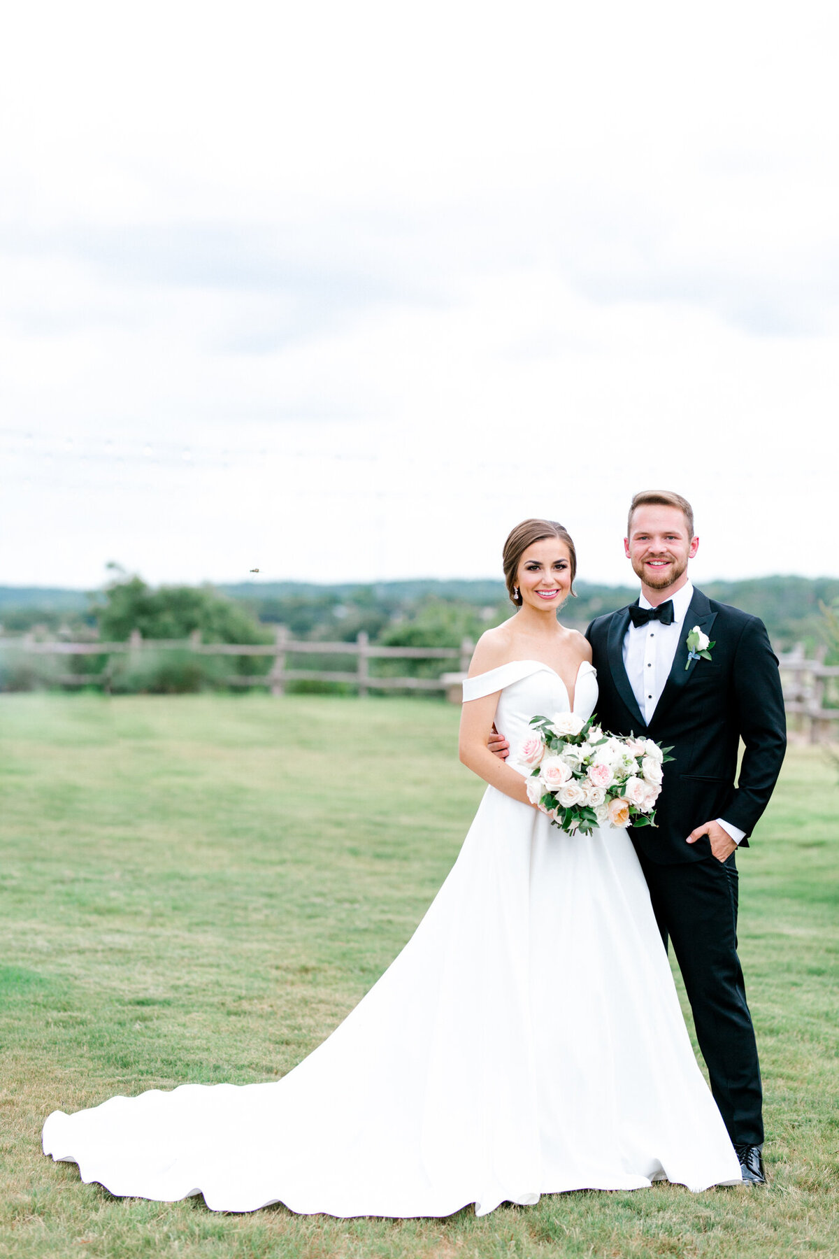 Lexi Broughton & Garrett Greer Wedding at Dove Ridge Vineyards | Sami Kathryn Photography | Dallas Wedding Photography-75