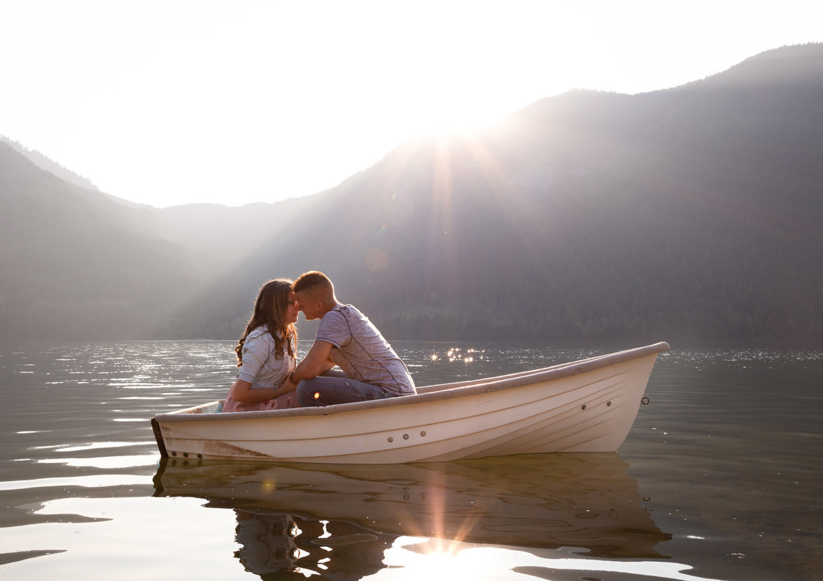 Wahleach Lake Adventure Engagement Chilliwack Elopement (5)