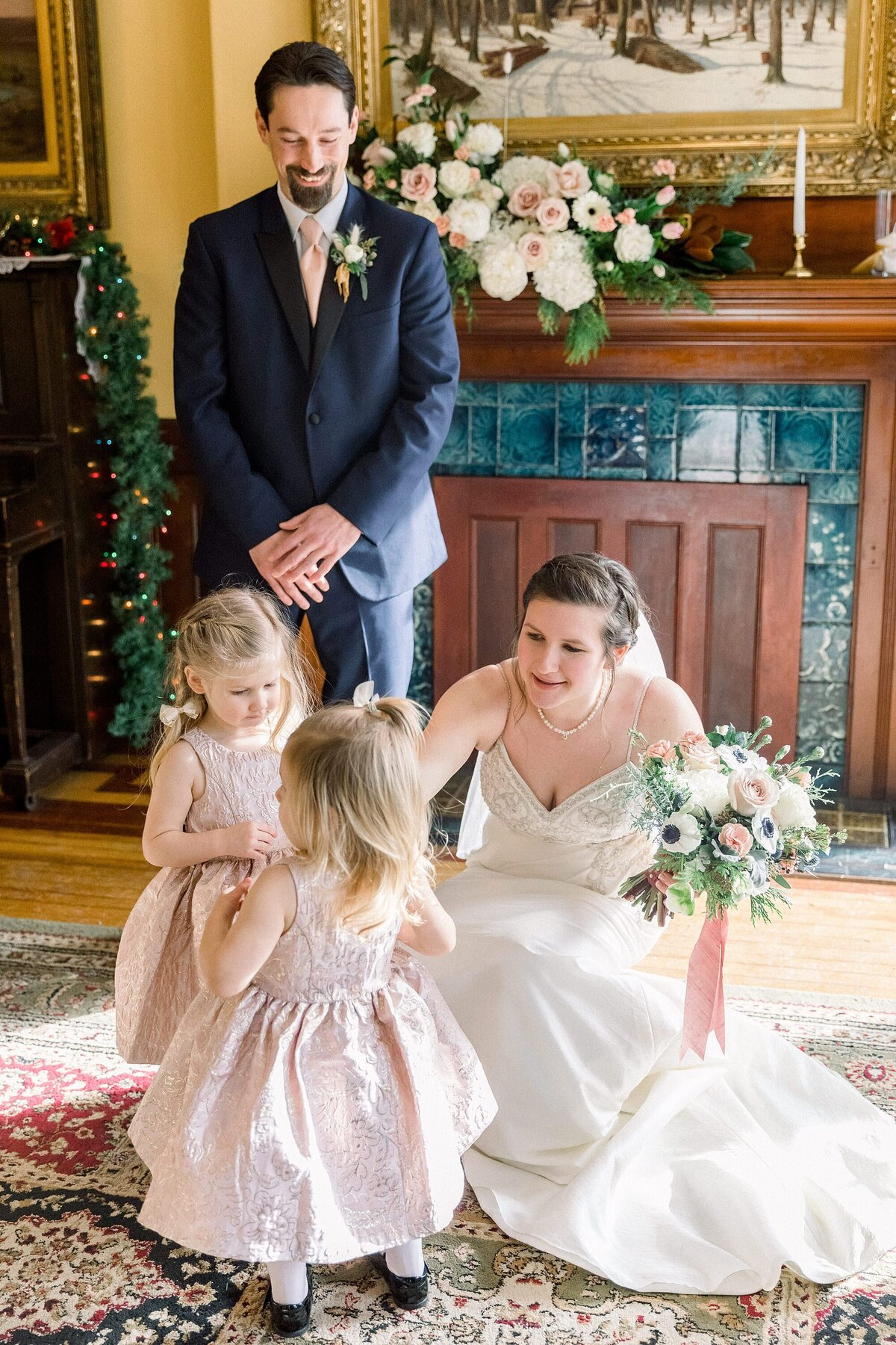 Littleton NH Community House Wedding By Haie-Portraits-39