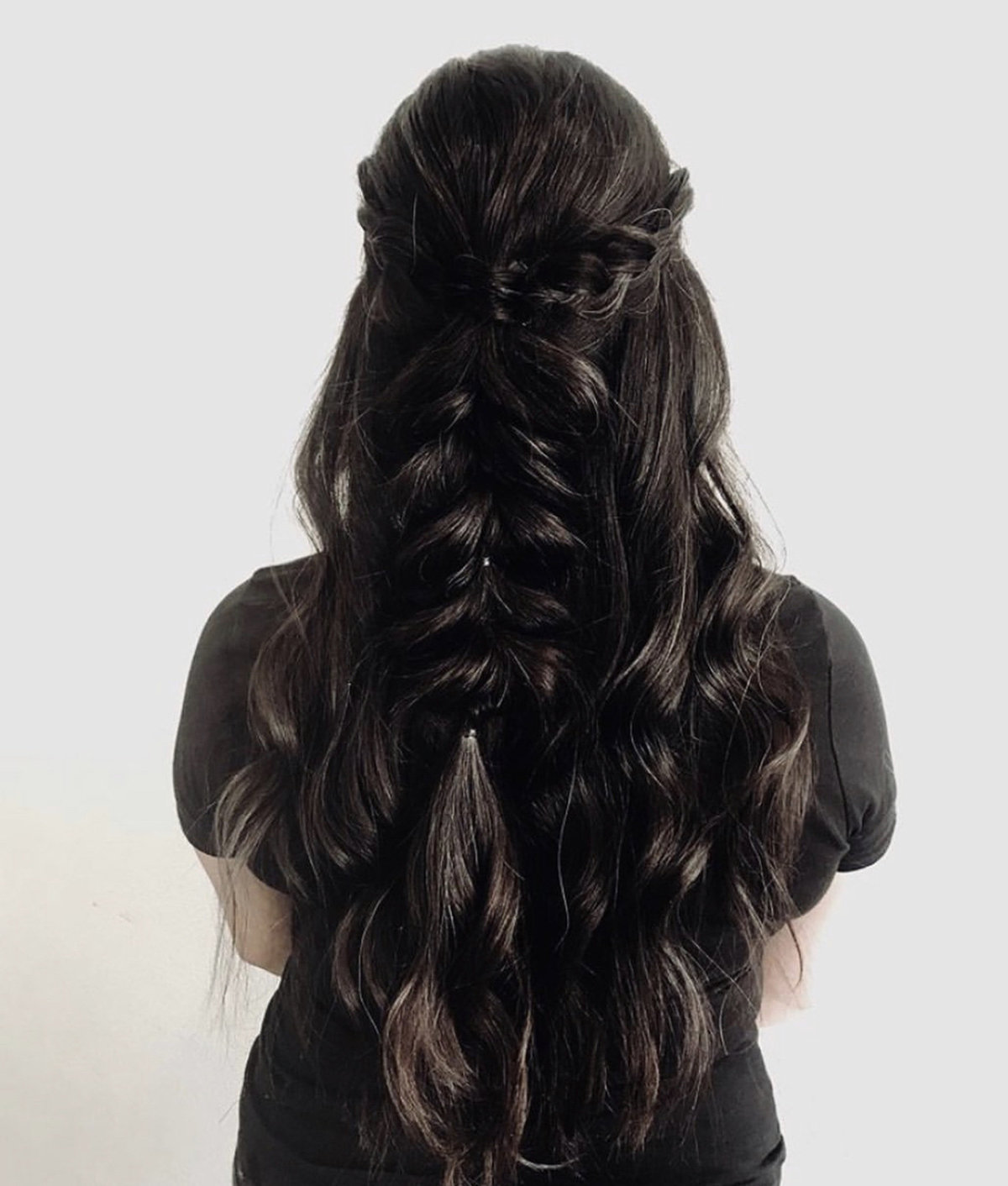 Long Hair Braided Hairstyle