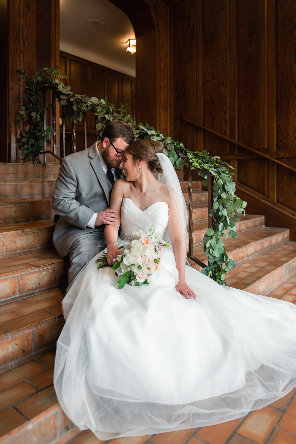 union avenue baptist church wedding photo
