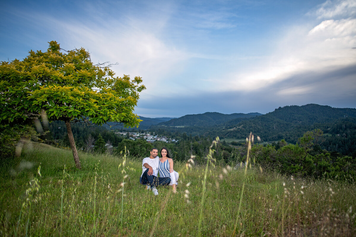 -Humboldt-County-Engagement-Photographer-Redway-Photographer-Parky's Pics-sunset-river-engagement-3