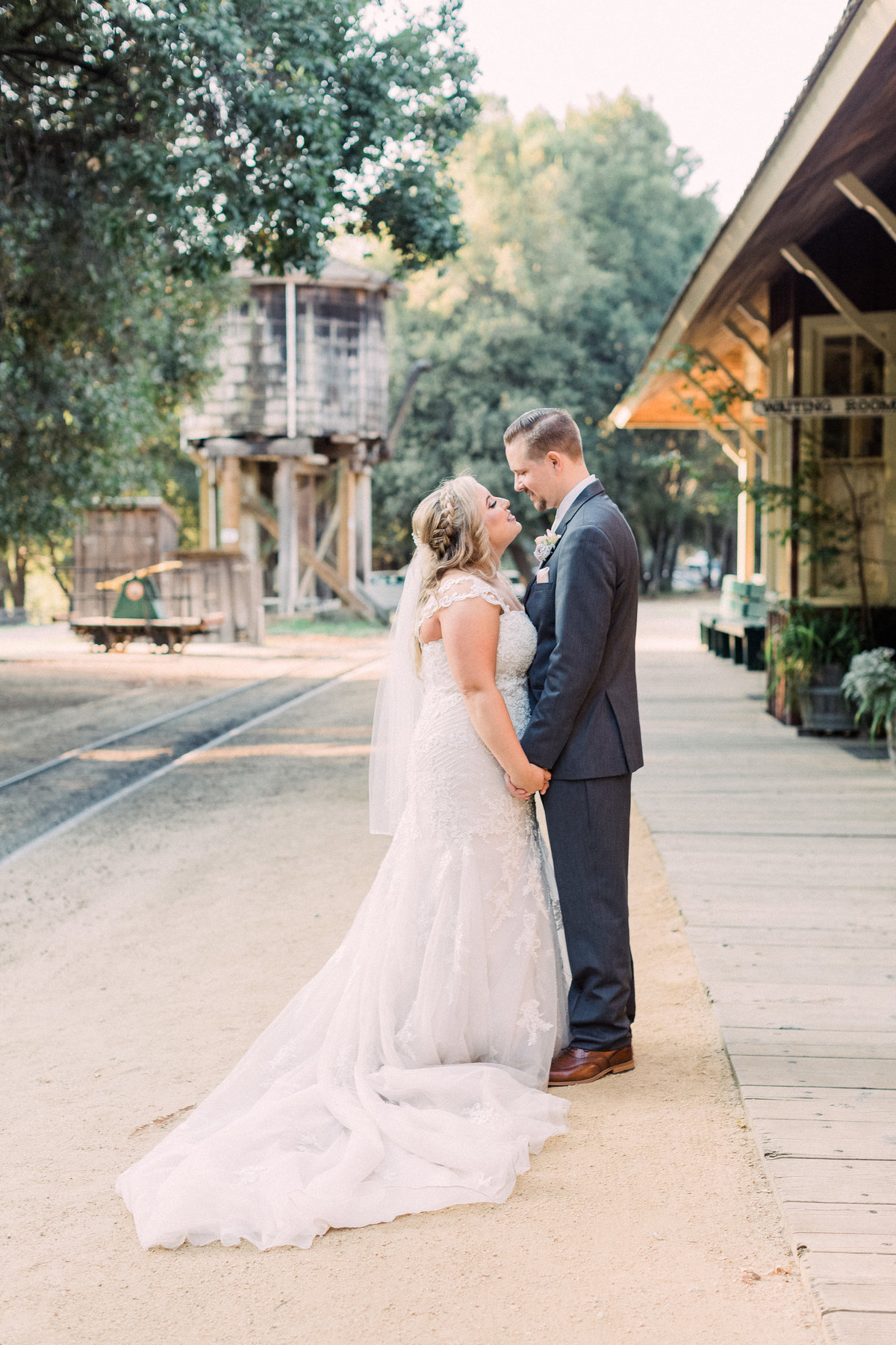 Roaring Camp Railroad Santa Cruz Wedding41