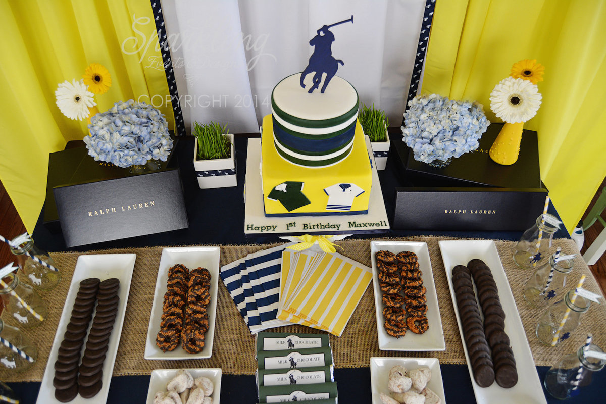 Sparkling Events Design - Polo Party Dessert Table Girl Scout Cookies