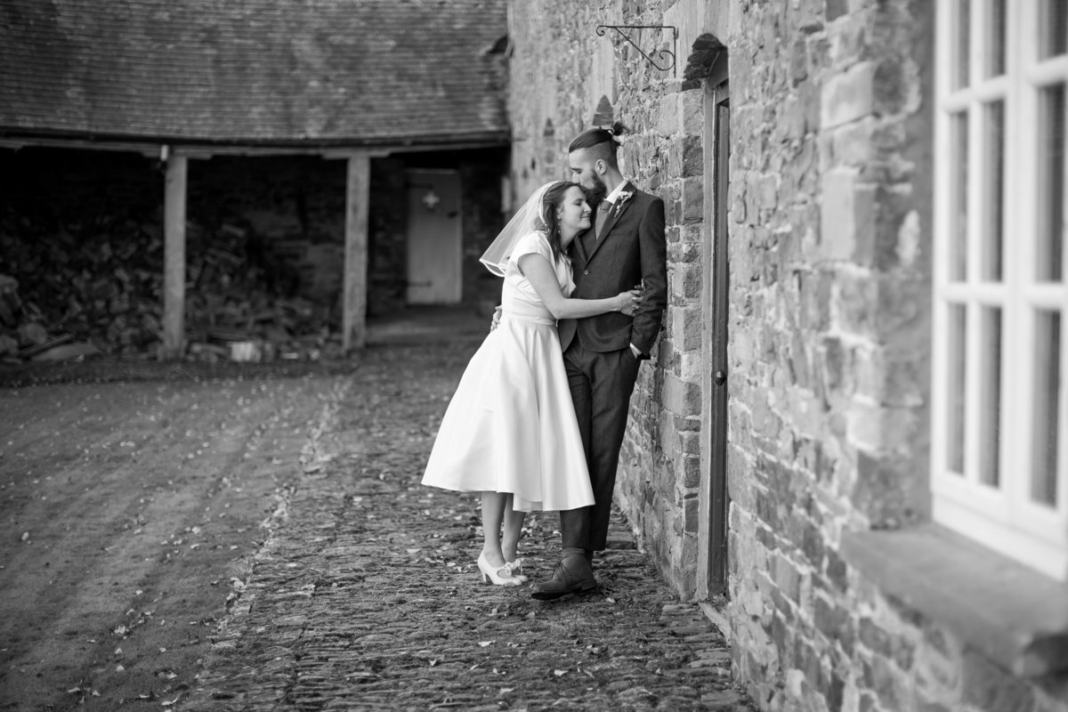 intimate wedding photography devon