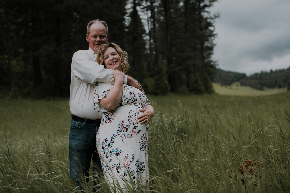 Photography session outdoors in Missoula Montana