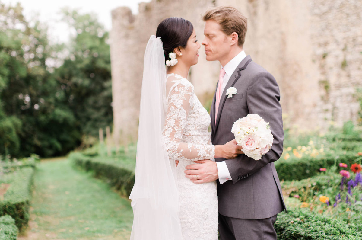 Romantic Wedding in a Castle in France