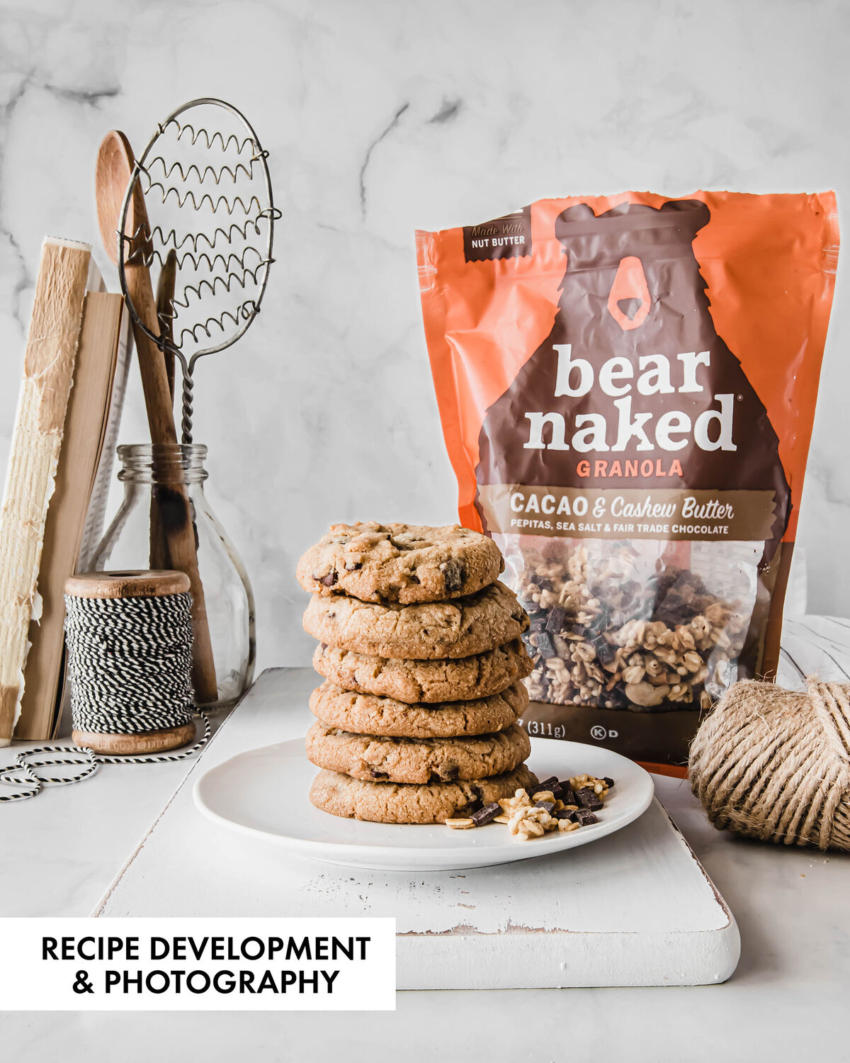 Recipe development and food photography for major national brands by Nancy Ingersoll