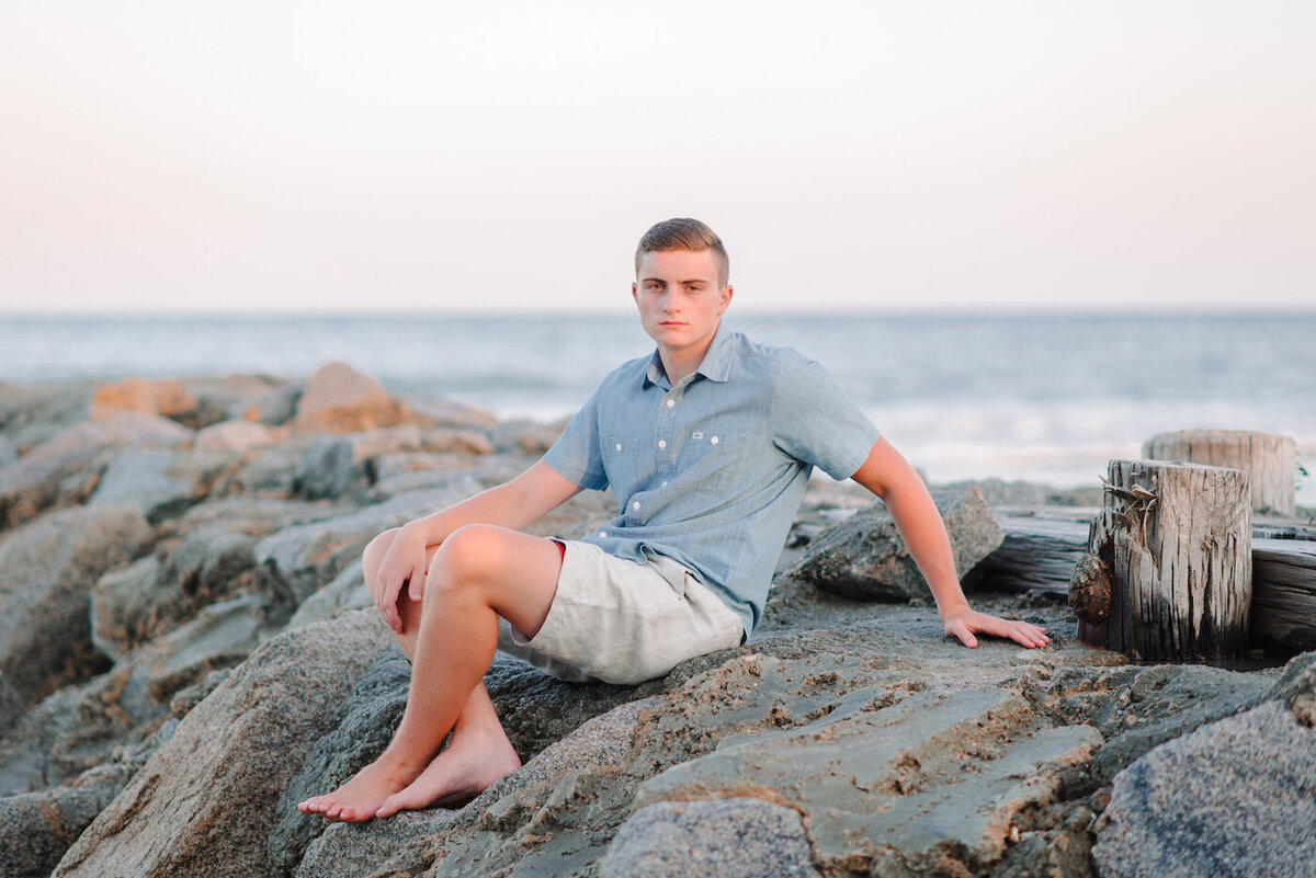 Myrtle Beach and Pawleys Island Senior Portraits for Guys-5