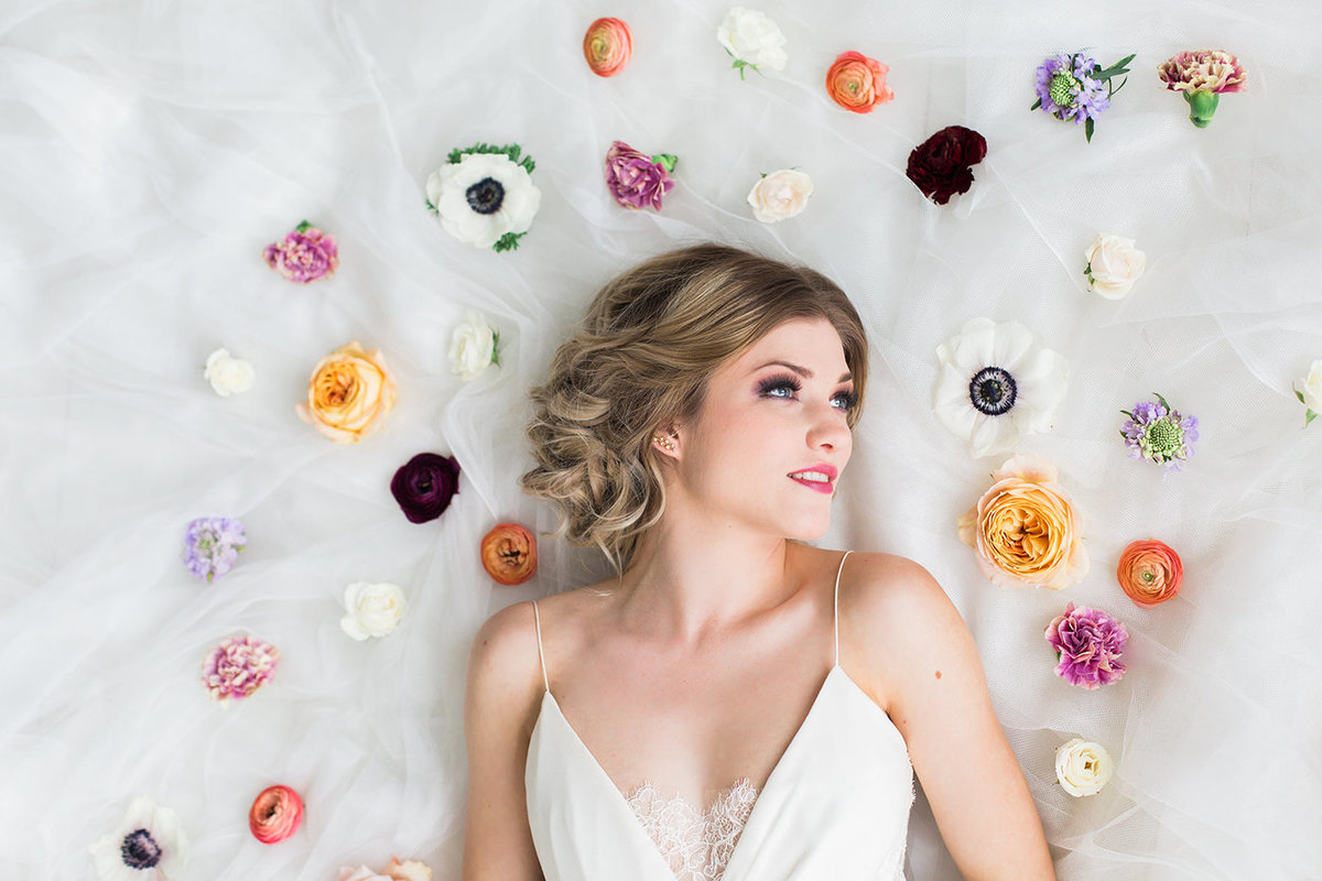 Modern Dallas Wedding Florist | Jubilee Flower Co. - Colorful Floral Goddess Editorial