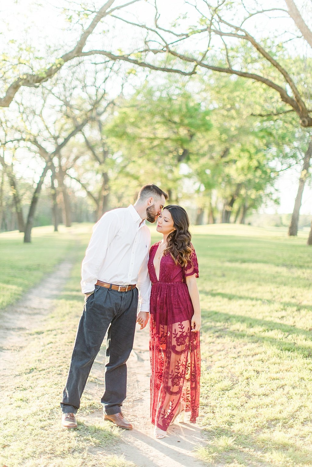 Eagle Dancer Ranch Engagement Photo Session in Boerne, Texas by Allison Jeffers Photography_0028