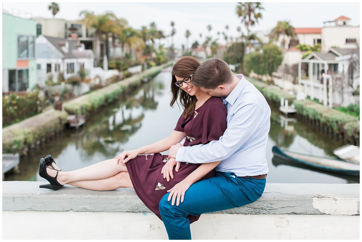 san diego engagement venice beach canals photos004