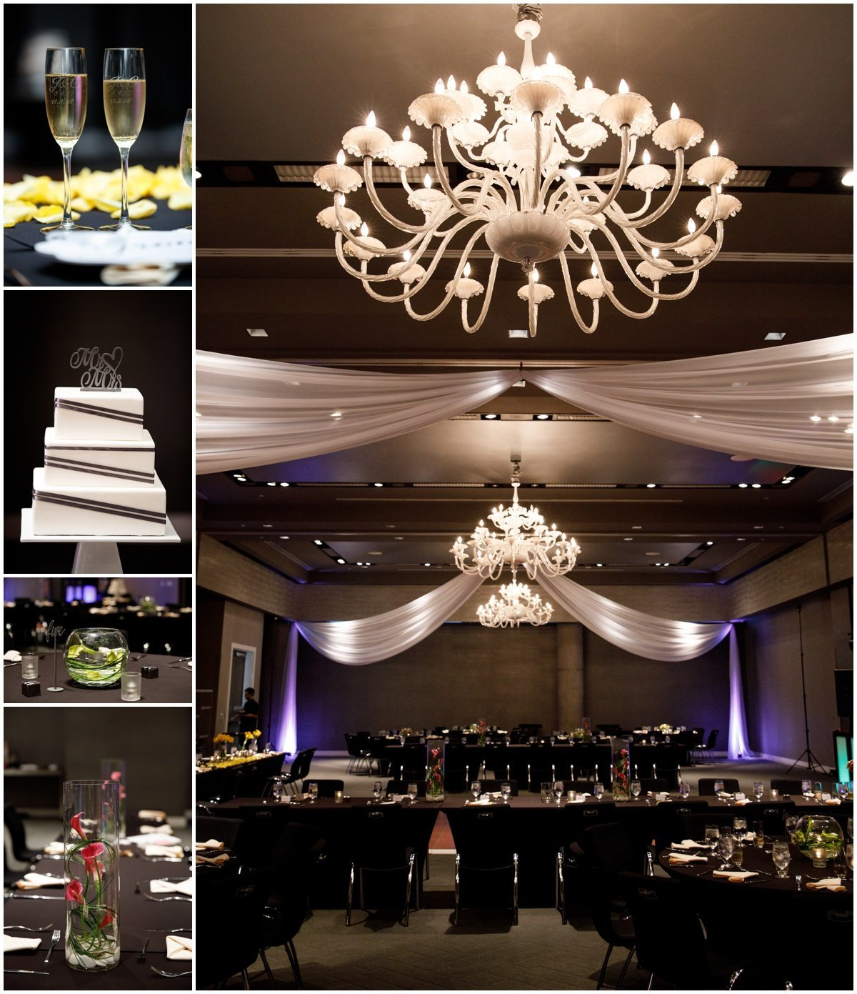 Austin wedding photographer w hotel wedding photographer reception hall