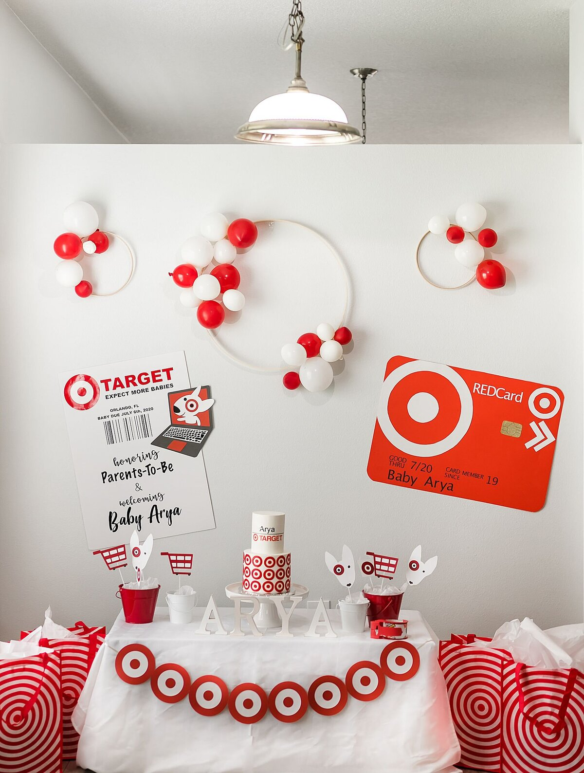 target theme baby shower