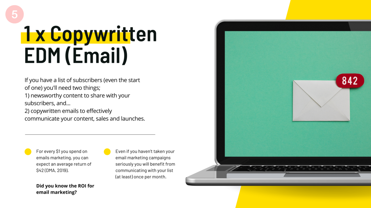 bohemia copywriting and content for small business and brands