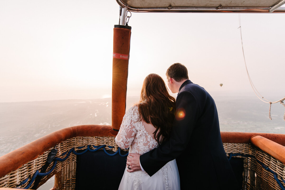Hot Air Balloon Elopement Marie Monforte Photography-178